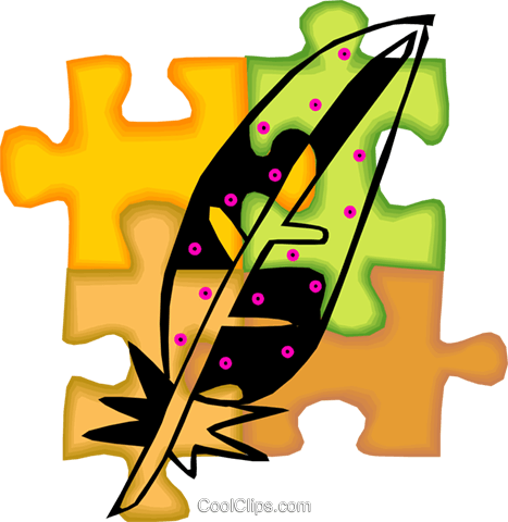 feather Royalty Free Vector Clip Art illustration vc010671