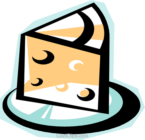 cheese Royalty Free Vector Clip Art illustration vc010800