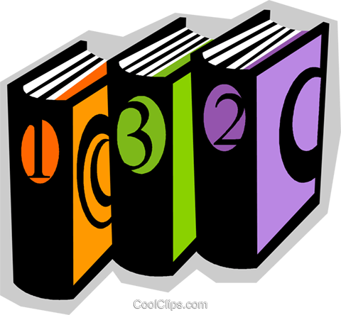 books Royalty Free Vector Clip Art illustration vc010819