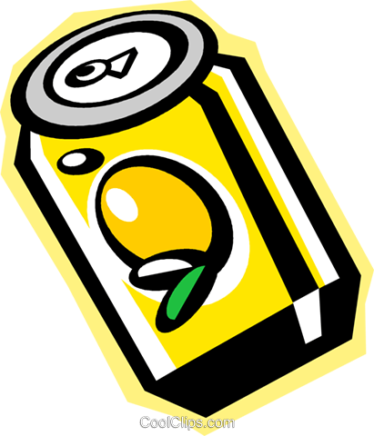 soda can Royalty Free Vector Clip Art illustration vc010859