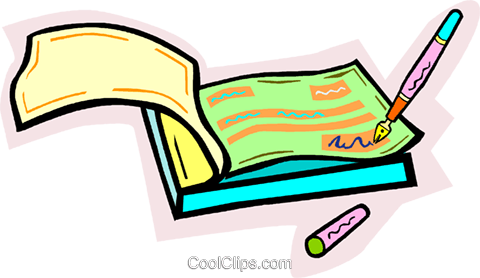 check book Royalty Free Vector Clip Art illustration vc010924