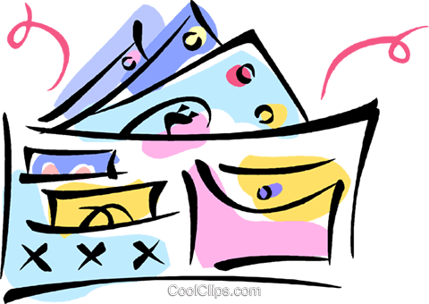 wallet Royalty Free Vector Clip Art illustration vc010981
