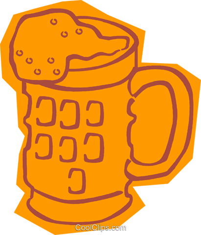 beer Royalty Free Vector Clip Art illustration vc011045