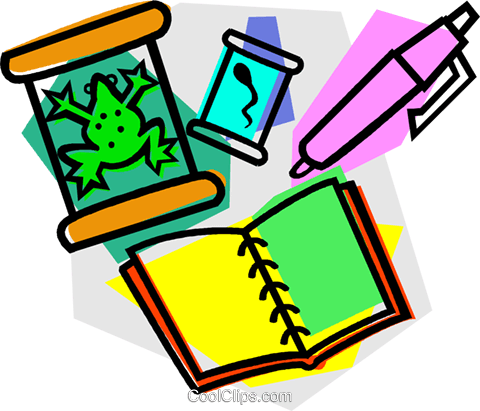 school project, science Royalty Free Vector Clip Art illustration vc011087