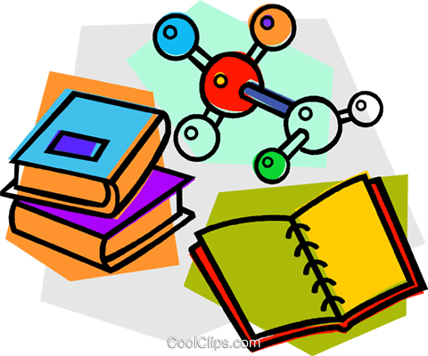 school project, physics Royalty Free Vector Clip Art illustration vc011136