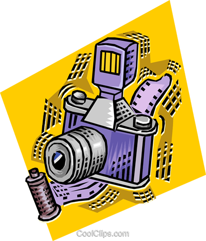 camera Royalty Free Vector Clip Art illustration vc011180