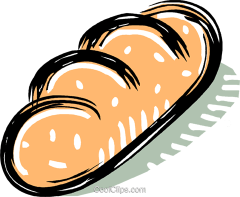 bread Royalty Free Vector Clip Art illustration vc011209