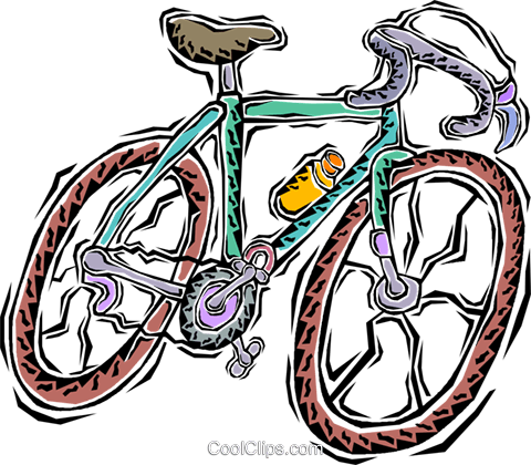 bike Royalty Free Vector Clip Art illustration vc011279