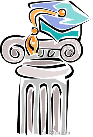 pedestal Royalty Free Vector Clip Art illustration vc011328
