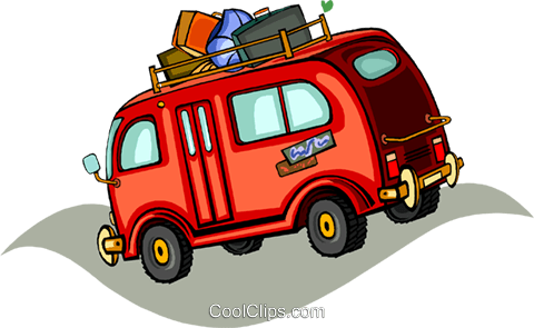 van Royalty Free Vector Clip Art illustration vc011384