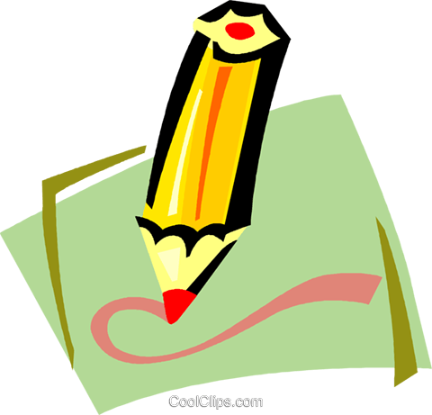 colored pencils Royalty Free Vector Clip Art illustration vc011387