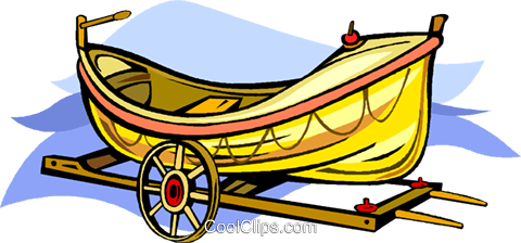 boat Royalty Free Vector Clip Art illustration vc011410