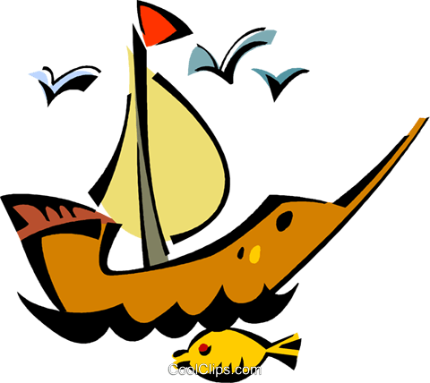 ship Royalty Free Vector Clip Art illustration vc011414