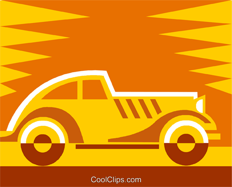 car Royalty Free Vector Clip Art illustration vc011472