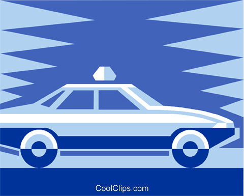 taxi Royalty Free Vector Clip Art illustration vc011477