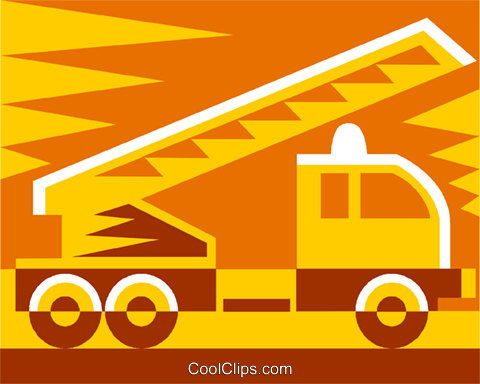 truck Royalty Free Vector Clip Art illustration vc011481
