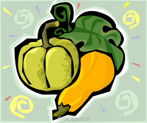 gourds Royalty Free Vector Clip Art illustration vc011497