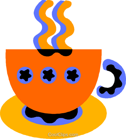 coffee Royalty Free Vector Clip Art illustration vc011533