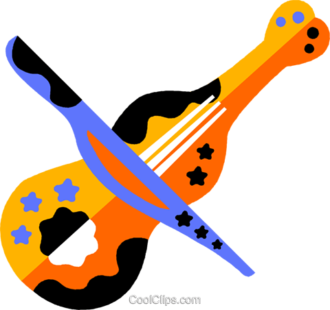 violin Royalty Free Vector Clip Art illustration vc011566