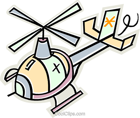 helicopter Royalty Free Vector Clip Art illustration vc011653