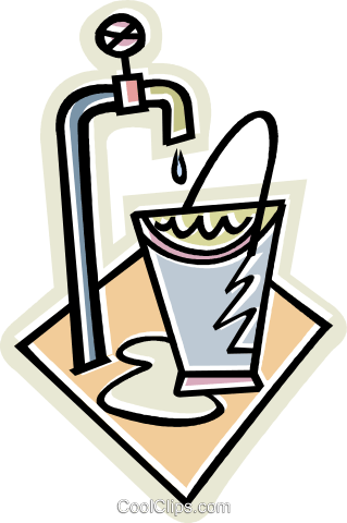 water tap Royalty Free Vector Clip Art illustration vc011657