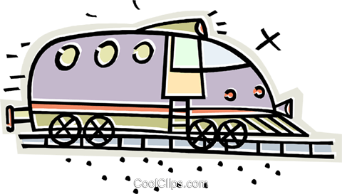 train Royalty Free Vector Clip Art illustration vc011665