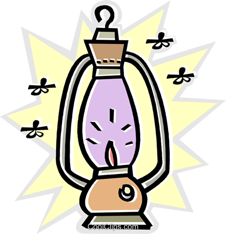 lantern Royalty Free Vector Clip Art illustration vc011670