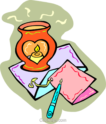candle Royalty Free Vector Clip Art illustration vc011720