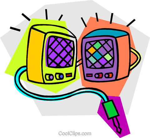 stereo speakers Royalty Free Vector Clip Art illustration vc011743