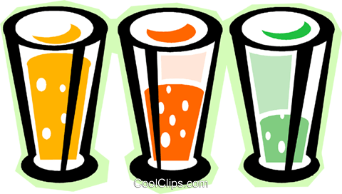 soda drinks Royalty Free Vector Clip Art illustration vc011822