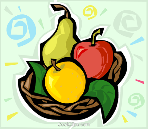 fruits Royalty Free Vector Clip Art illustration vc011953