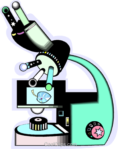 microscope Royalty Free Vector Clip Art illustration vc012093