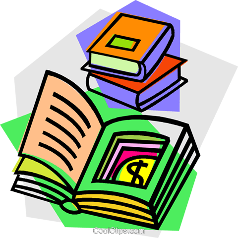 books Royalty Free Vector Clip Art illustration vc012127