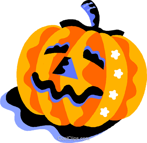 pumpkin Royalty Free Vector Clip Art illustration vc012213