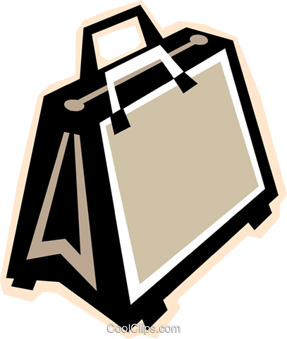briefcase Royalty Free Vector Clip Art illustration vc012304