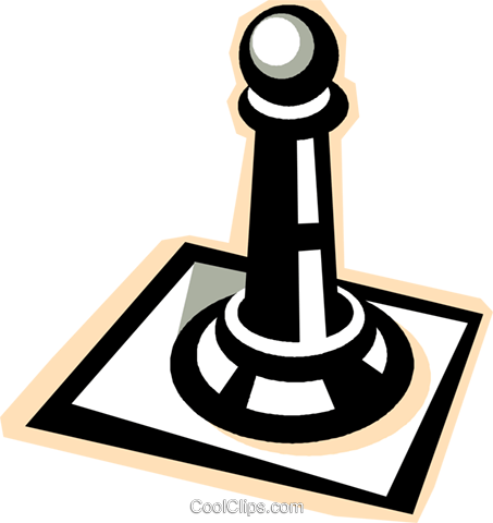 chess Royalty Free Vector Clip Art illustration vc012313