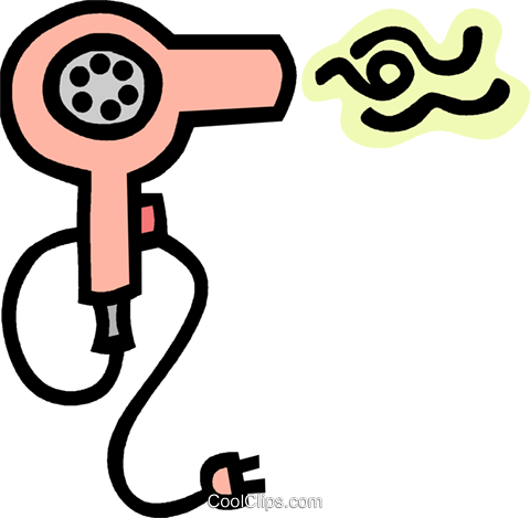 hair dryer royalty free vector clip art illustration vc012764 rh search coolclips com hair dryer cartoon clipart Hair Dresser Clip Art