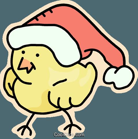 圣诞老人的助手 免版税矢量剪贴画插图