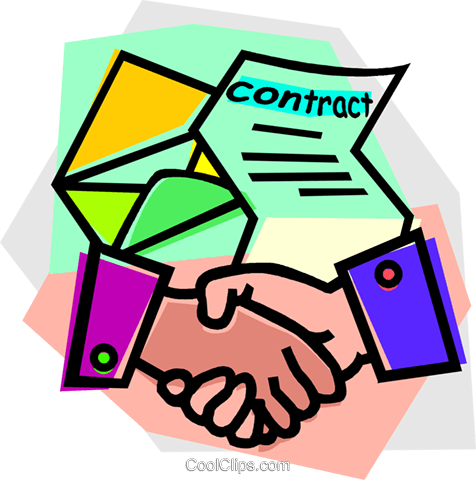 Image result for contracts clipart