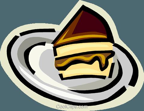 Stück Torte Oder Kuchen Vektor Clipart Bild Vc013438 Coolclips Com