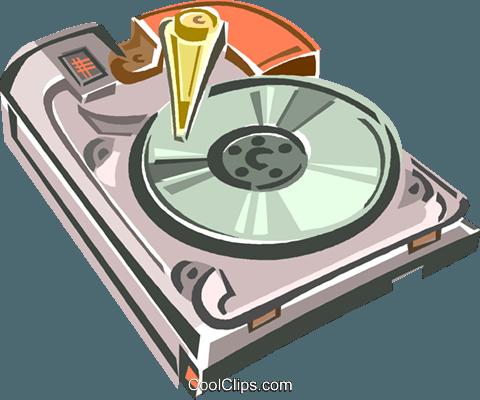 Hard Disk Drive Vektor Clipart Bild -vc013572-CoolCLIPS.com