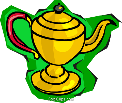 teapot Royalty Free Vector Clip Art illustration vc014053