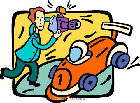 race car Royalty Free Vector Clip Art illustration vc014412