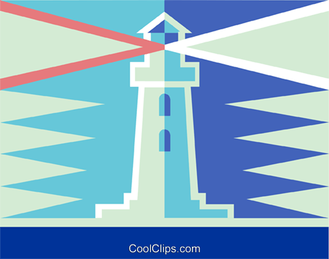 lighthouse Royalty Free Vector Clip Art illustration vc014486