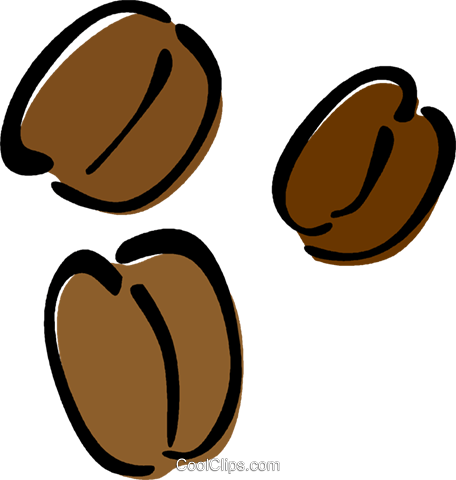 coffee beans royalty free vector clip art illustration vc014626 rh search coolclips com coffee bean bag clip art coffee bean clip art borders free
