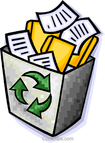 Recycle box Royalty Free Vector Clip Art illustration vc014729