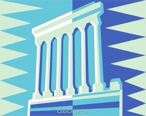 Rome Royalty Free Vector Clip Art illustration vc014950