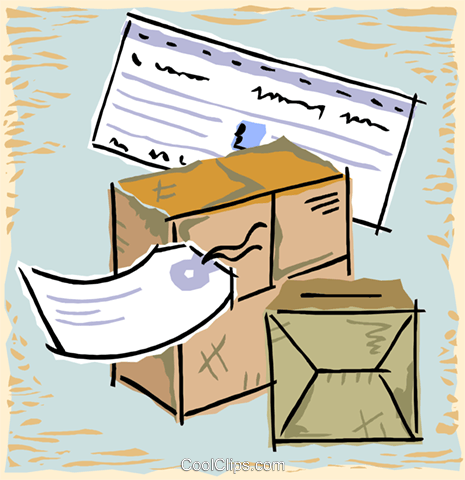 packages Royalty Free Vector Clip Art illustration vc015399