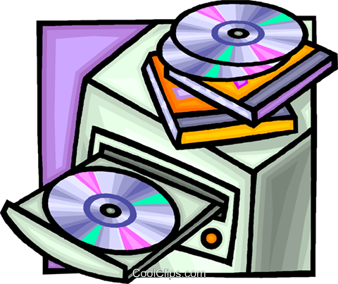 computer with a cd rom drive royalty free vector clip art rh search coolclips com