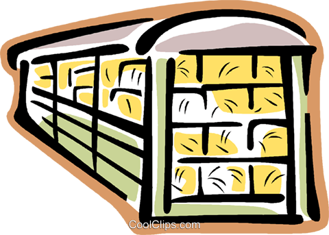 railcar Royalty Free Vector Clip Art illustration vc015659
